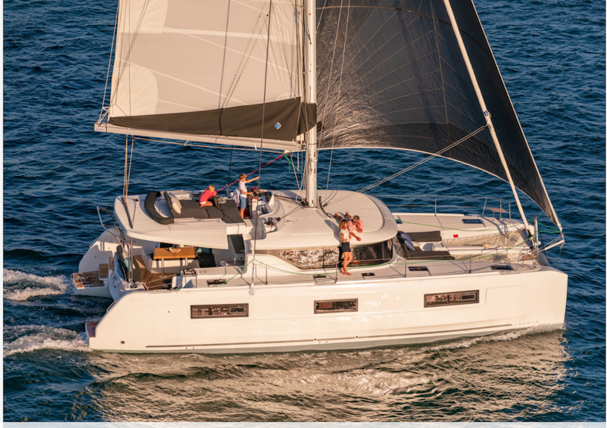 Lagoon 46 is the most visited multihull during the Boot show in Dusseldorf